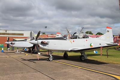 Irish Air Corps Pilatus PC-9M's 267 & 262 - 14/06/15.