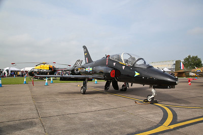 RAF BAe Hawk T.1, XX335, on static display - 10/06/18