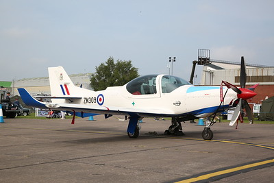 RAF Grob Prefect T.1, ZM309 / G-CKCO, on static display - 10/06/18