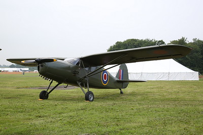 ex-USAAF & RAF Fairchild Argus III, KK527 / G-RGUS - 09/06/19