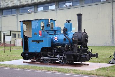 Talyllyn Railway No.6 'Douglas', painted in RAF blue for RAF100 - 09/06/19