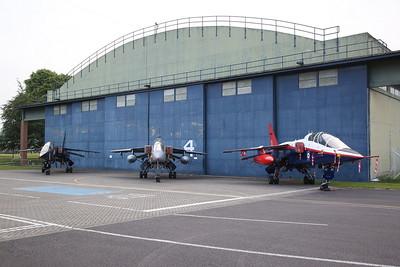 RAF SEPECAT Jaguar T.2, XX837 / Z, ex-Qinetiq SEPECAT Jaguar T.2A, XX833 & ex-Qinetiq/ETPS SEPECAT Jaguar T.2, ZB615 - 09/06/19