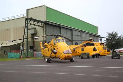 RAF Westland Wessex HC.2, XR498 & RAF Westland Sea King HAR.3, XZ596 - 09/06/19