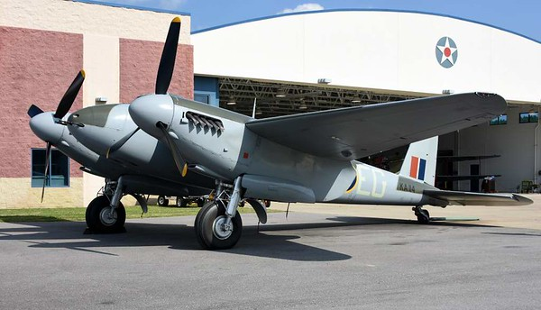 de Havilland DH,98 Mosquito FB.26 KA114 / EG-Y, Military Aviation Museum, Virginia Veach, Virginia, 19 May 2017 8.
