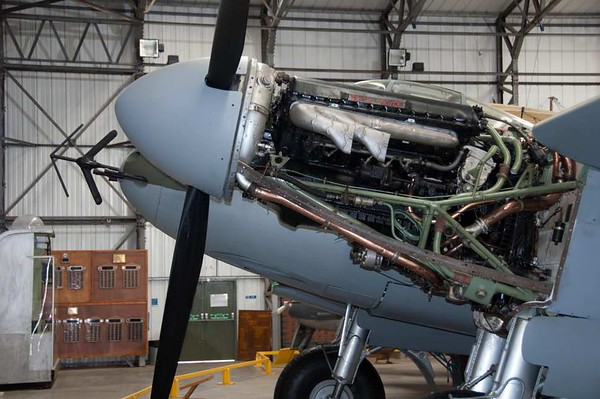 de Havilland DH.98 Mosquito NF.11 HJ711 / 'VI-C', Yorkshire Air Museum, Elvington, 28 September 2007 2.