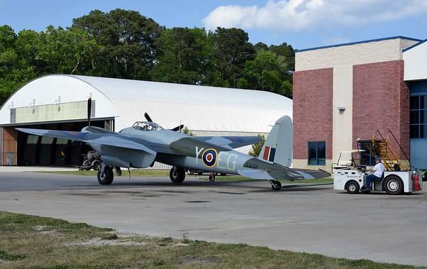 de Havilland DH.98 Mosquito FB.26 KA114 / EG-Y, Military Aviation Museum, Virginia Veach, Virginia, 19 May 2017 6.