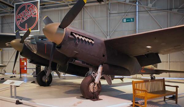 de Havilland DH.98 Mosquito TT.35 TA639 / 'AZ-E', Royal Air Force Museum, Cosford, 14 December 2012 2.