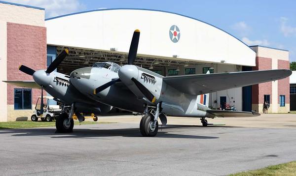 de Havilland DH.98 Mosquito FB.26 KA114 / EG-Y, Military Aviation Museum, Virginia Veach, Virginia, 19 May 2017 9.