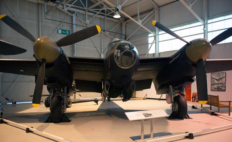De Havilland DH.98 Mosquito TT.35 TA639 / 'AZ-E', Royal Air Force Museum, Cosford, 14 December 2012 4.