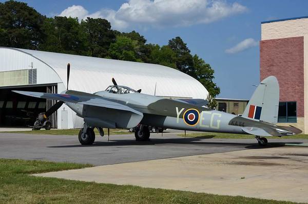 de Havilland DH,98 Mosquito FB.26 KA114 / EG-Y, Military Aviation Museum, Virginia Veach, Virginia, 19 May 2017 7.