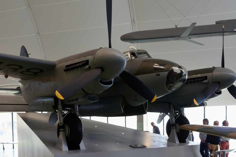de Havilland DH.98 Mosquito B.35 TJ138 / 'VO-L', Royal Air Force Museum, Hendon, 10 September 2015 2.