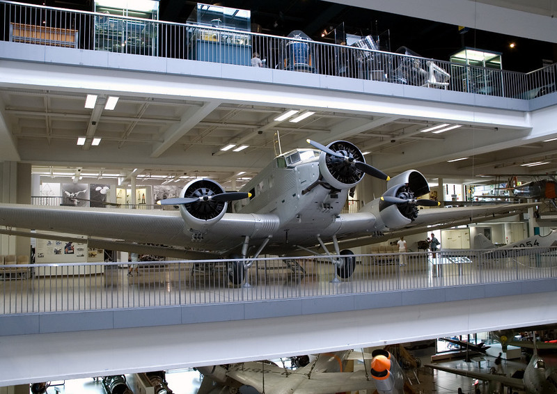 Junkers Ju 52/3u, Deutsches Museum, Munich, 16 June 2006 1.  This aircraft was built in 1947 - in France!