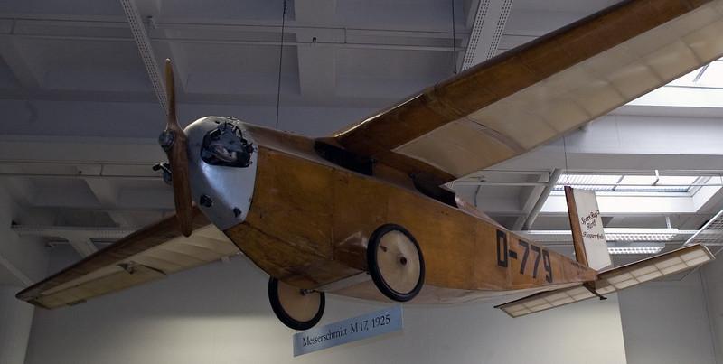 Messerschmitt M17 D-779, Deutsches Museum, Munich, 16 June 2006 1.  The first powered Messerschmitt aircraft.