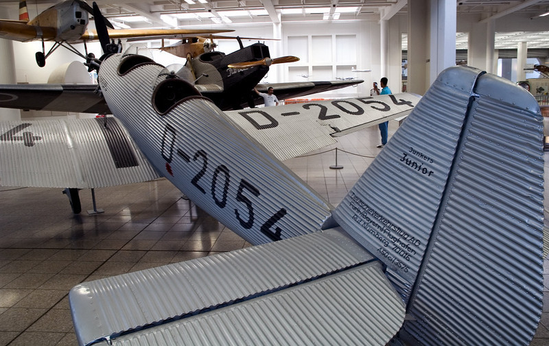 Junkers A50 Junior D-2054, Deutsches Museum, Munich, 16 June 2006 1.