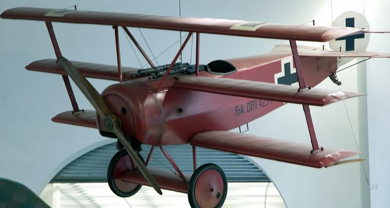 Fokker DR1, Deutsches Museum, Munich, 16 June 2006 1