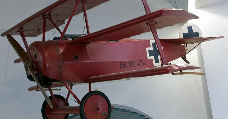 Fokker DR1, Deutsches Museum, Munich, 16 June 2006 2