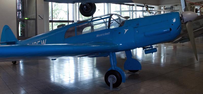 Messerschmitt Bf-108 Taifun D-IBFW, Deutsches Museum, Munich, 16 June 2006
