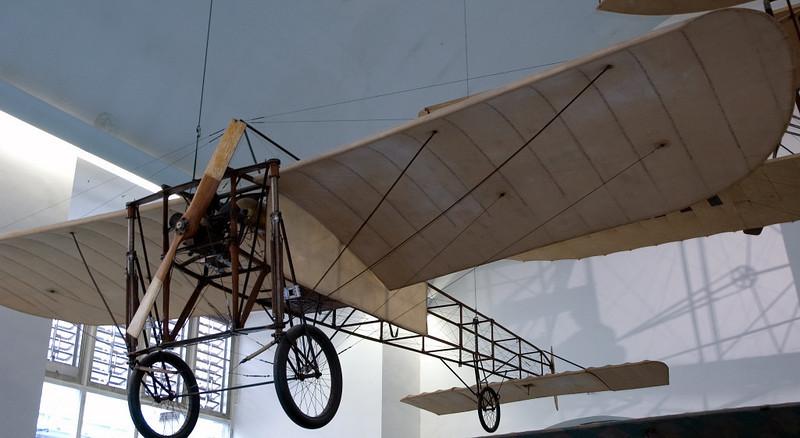 Bleriot Eindecker, Deutsches Museum, Munich, 16 June 2006