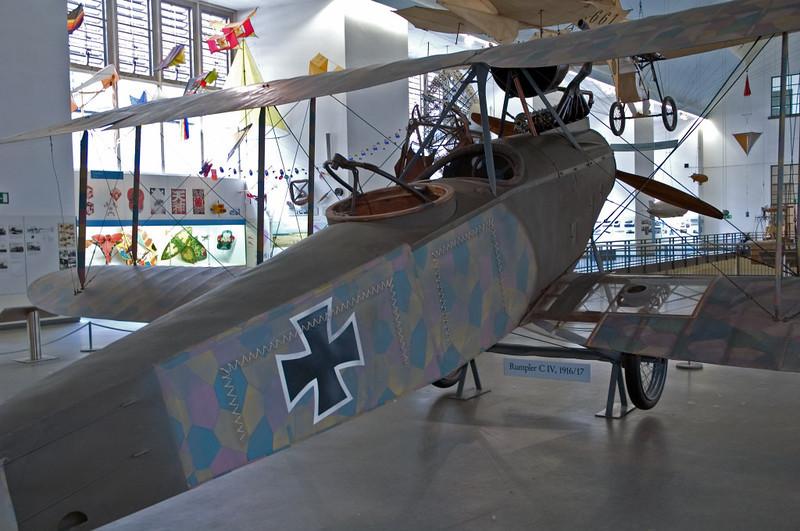 Rumpler C IV, Deutsches Museum, Munich, 16 June 2006 2