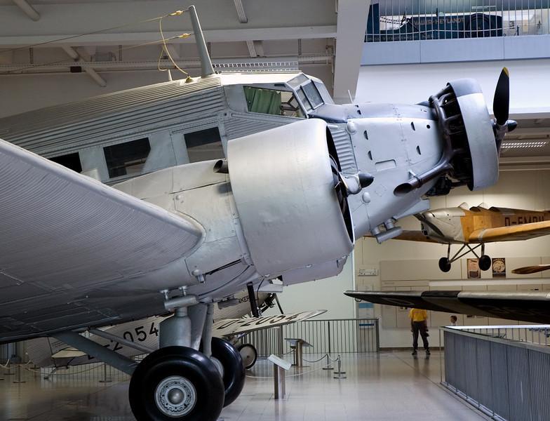 Junkers Ju 52/3u, Deutsches Museum, Munich, 16 June 2006 2