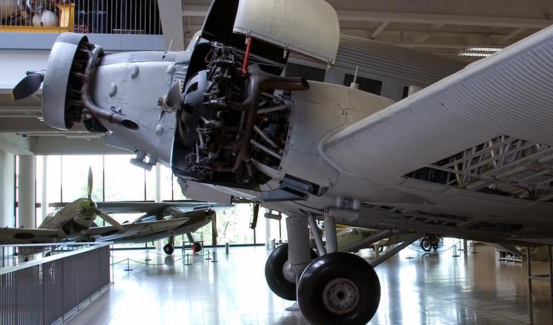 Junkers Ju 52/3u, Deutsches Museum, Munich, 16 June 2006 3