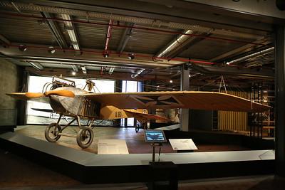 ex-Luftwaffe Jeannin Stahltaube, A.180/14, Deutsches Technikmuseum, Berlin - 05/03/17.