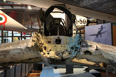 Wreckage of crashed Luftwaffe Junkers Ju.87 R-2 Stuka, 5856, Deutsches Technikmuseum, Berlin .... this aircraft crashed near Murmansk in 1942 and was recovered in 1994 - 05/03/17.