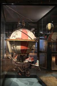 Fantasy hot air balloon, Deutsches Technikmuseum, Berlin - 05/03/17.