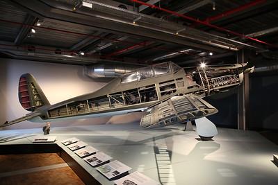 ex-Luftwaffe Arado Ar.96 B-1, U+CF / 4081, Deutsches Technikmuseum, Berlin - 05/03/17.