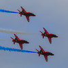 RAF Red Arrows - RAF Cosford (June 2014)