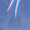 RAF Red Arrows - RAF Cosford (June 2014)