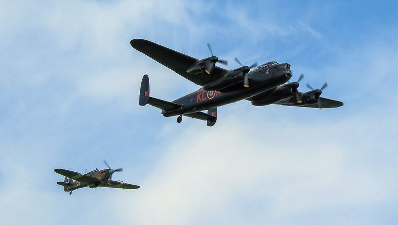 BBMF Practise at RAF Coningsby (July 2016)