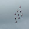 RAF Red Arrows @ British F1 Grand Prix - Silverstone (July 2016)