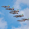 Frecce Tricolori - Italian Display Team - RIAT - RAF Fairford (July 2018)