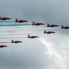 Red Arrows - RAF Display Team - BAE Hawk T1 - RIAT - RAF Fairford (July 2019)