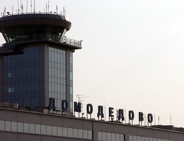Domodedovo airport terminal building, 21 September 2004.