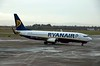 Ryanair Boeing 737-800 EI-DYE, Dublin airport, 12 January 2009