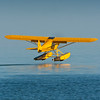 Piper Cub from the sea base at Oshkosh Airventure 09