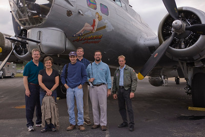 Photo taken October 16, 2008.  Members of EAA Chapter 17 (Knoxville, TN) prepare to depart to Lawrenceville, GA.