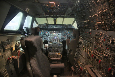 Cockpit, ex-British Airways Aérospatiale/BAC Concorde, G-BOAA - 18/08/19