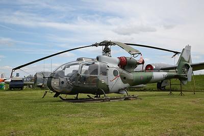 ex-Army Air Corps Aérospatiale Gazelle AH.1, XX457 - 03/06/17.