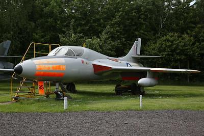 ex-RAF Hawker Hunter T.7 2-seat trainer, XL569 - 03/06/17.