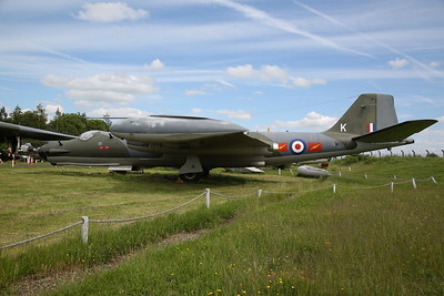 ex-RAF English Electric Canberra T.17, Electronic warfare training variant, WH740 - 03/06/17.