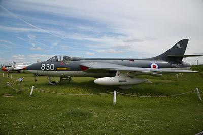 ex-RN Hawker Hunter GA.11, WV382 / 830 - 03/06/17.