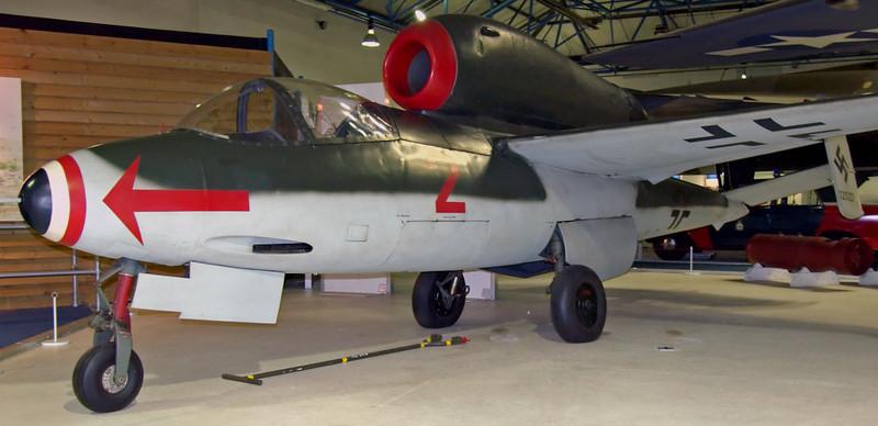 1945 - Heinkel He 162A-2 jet fighter, Hendon, 18 September 2007 2