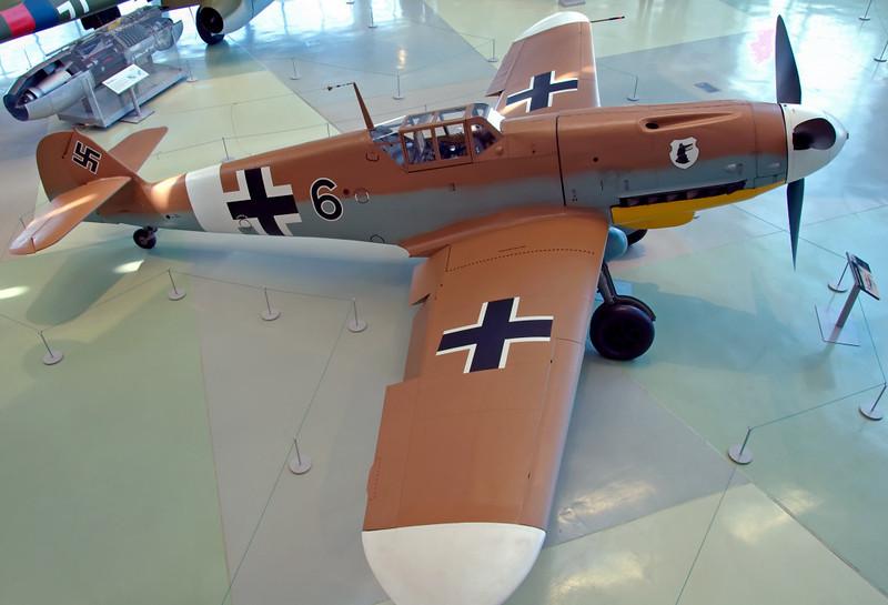 1942 - Messerschmitt Bf 109G-2 10639, Hendon, 18 September <br /> 2007 1   Captured near Tobruq, Libya, in 1942.