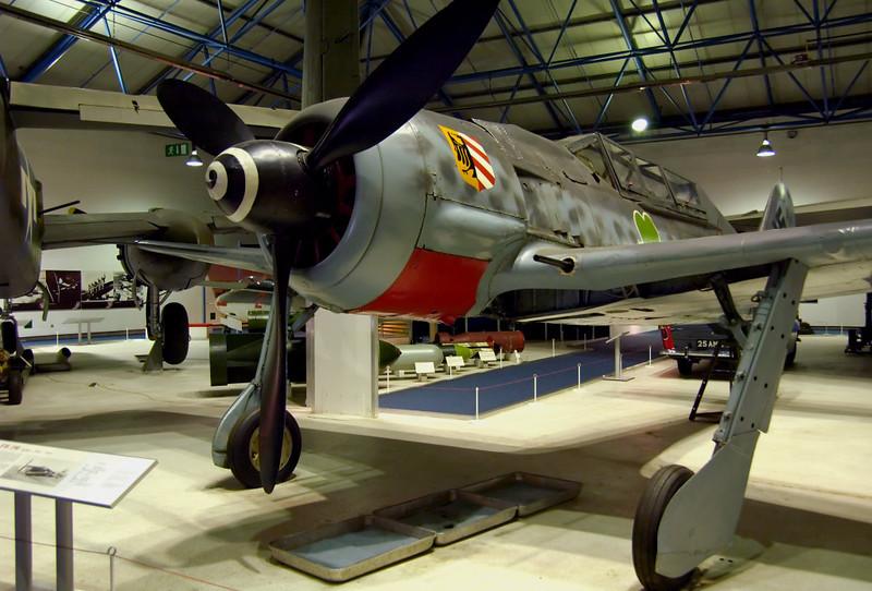 1944 - Focke Wulf Fw 190A-8/U-1 584219, Hendon, 18 September 2007 2