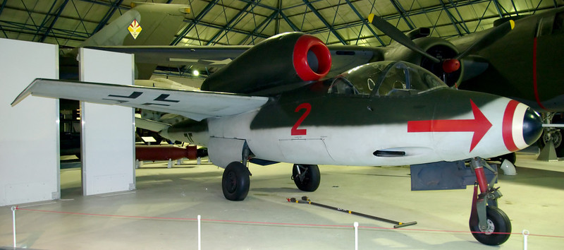 1945 - Heinkel He 162A-2 jet fighter, Hendon, 18 September 2007 1