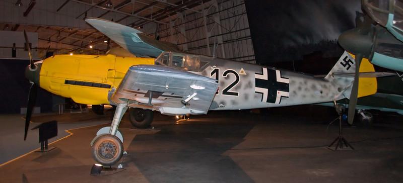 1940 - Messerschmitt Bf 109E-3 4101, Hendon, 18 September 2007 2