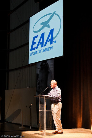 EAA Young Eagles Press Conference